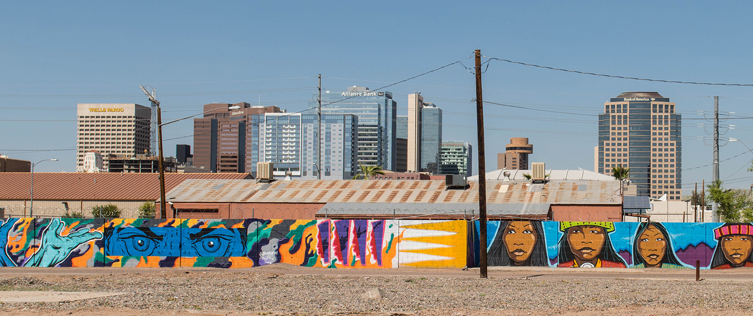 Bentley Gallery Mural Phoenix Warehouse District