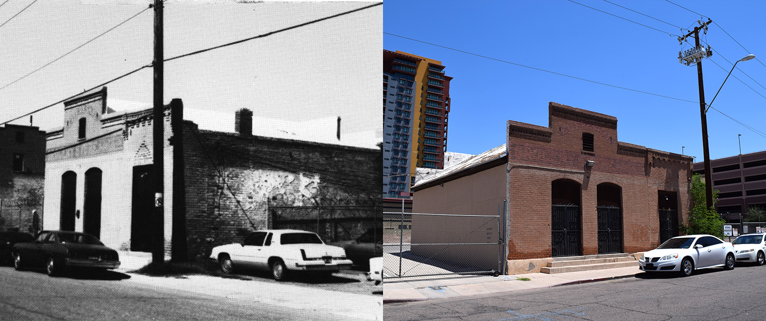 PHXWD Arivizu's El Fresnal Grocery Store Then Now
