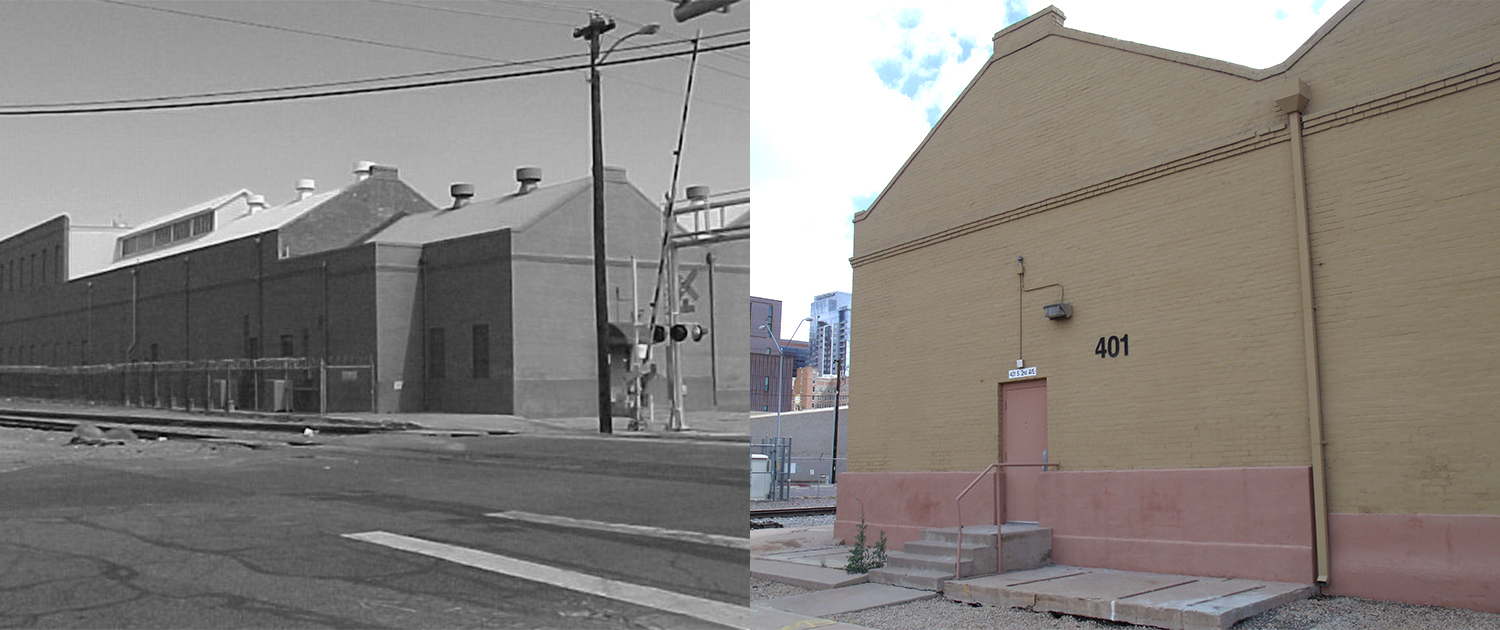 PHXWD Gas Works Building Then Now